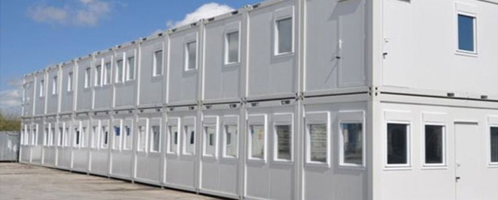 New portable cabins