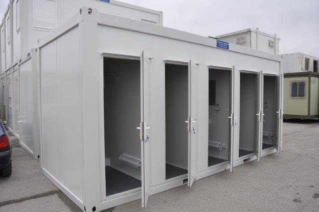 New Portable Showers & Toilet Cabins For Sale